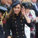 Look du jour : Kate Middleton, exquise militaire Alexander McQueen