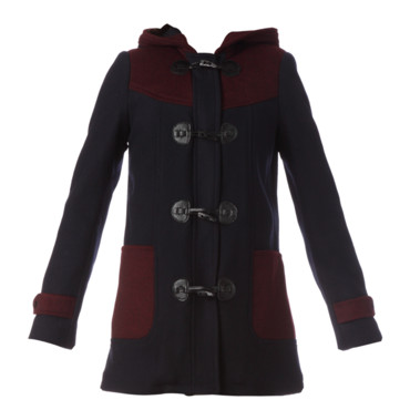 Le manteau bicolore American Retro 485 euros chez Monshowroom
