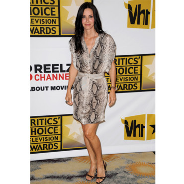 Courteney Cox en Lanvin