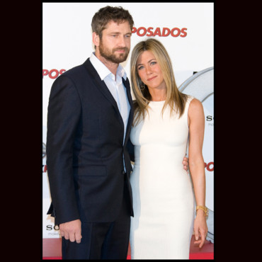 Gerard Butler et Jennifer Aniston à Madrid