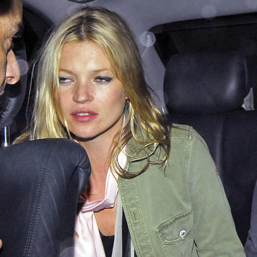 Kate Moss fatiguée