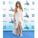 Lea Michele en robe Armani