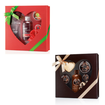 Coffrets The Body Shop pour la Saint Valentin