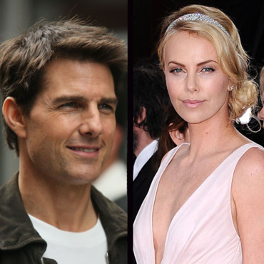 montage Tom Cruise et Charlize Theron