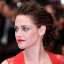 Kristen Stewart lors de la projection de Cosmopolis au Festival de Cannes 2012