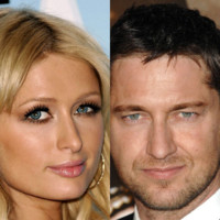 Photo : Gerard Butler et Paris Hilton