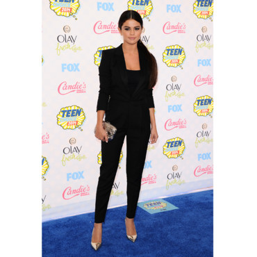 Selena Gomez lors des Teen Choice Awards 2014 le 10 août 2014 à Los Angeles