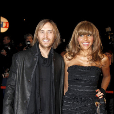 David et Cathy Guetta sur le tapis rouge des NRJ Music Awards