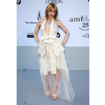 Courtney Love en Givenchy Couture