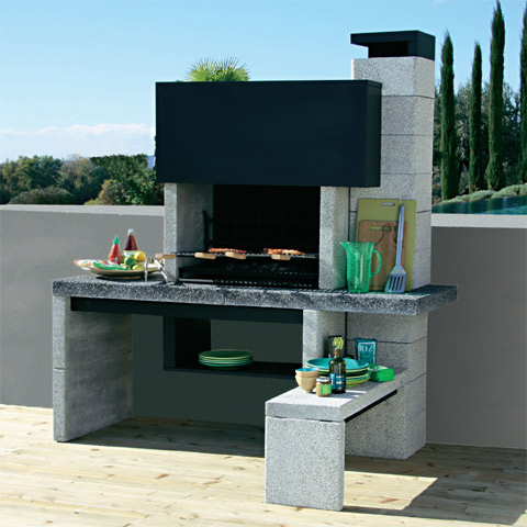 barbecues les nouveaux mod les design le barbecue new. Black Bedroom Furniture Sets. Home Design Ideas