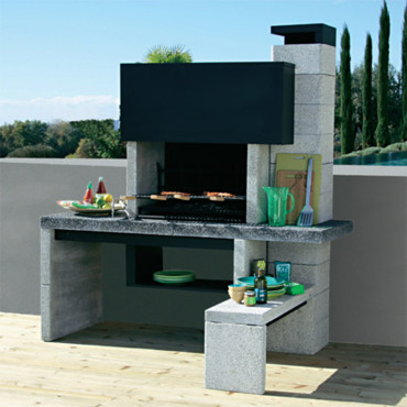 barbecue castorama fixe. Black Bedroom Furniture Sets. Home Design Ideas