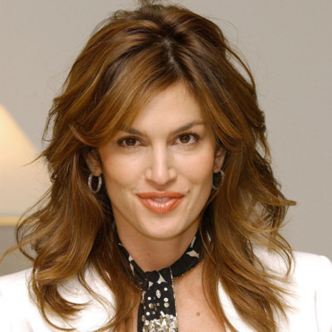 Cindy Crawford à 38 ans, à Los Angeles, le 26 Octobre 2004.