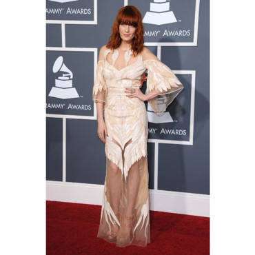 Florence Welch en Givenchy Couture