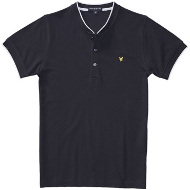 Polo noir Lyle & Scott 110 €