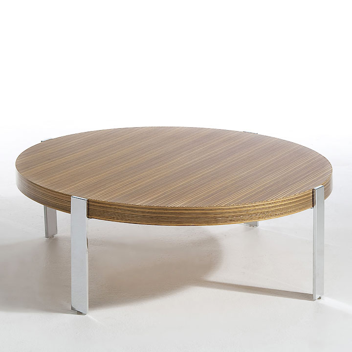 10 tables basses canon pour habiller son salon table basse ronde la redoute - Table basse scandinave la redoute ...