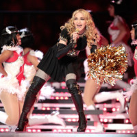 Madonna en concert - Superbowl fvrier 2012