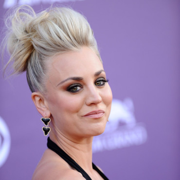 Kaley Cuoco à la cérémonie des Country Music Awards, le 7 avril 2013 à Las Vegas