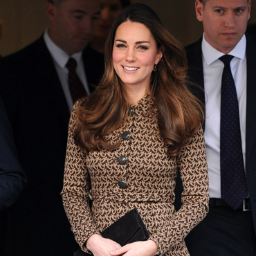 Kate Middleton le 19 novembre 2013 à Londres