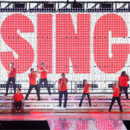 Le concert de &quot;Glee&quot;  Londres