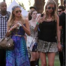 Paris et Nicki Hilton au festival musical de Coachella, le 13 avril 2013.