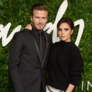 David et Victoria Beckham aux British Fashion Awards le 1er decembre 2014 à Londres