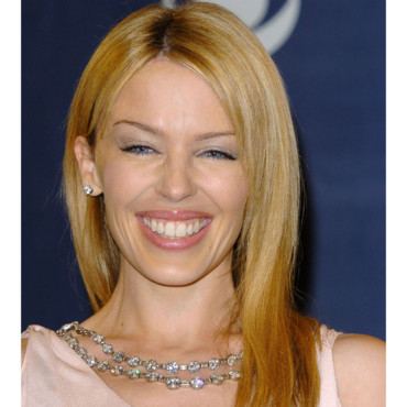 Kylie Minogue à 36 ans, lors de de la 46e cérémonie des Grammy Awards au Staples Center à Los Angeles, le 8 février 2004.