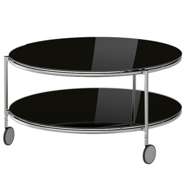 10 tables basses canon pour habiller son salon table basse ronde strind ikea d co. Black Bedroom Furniture Sets. Home Design Ideas