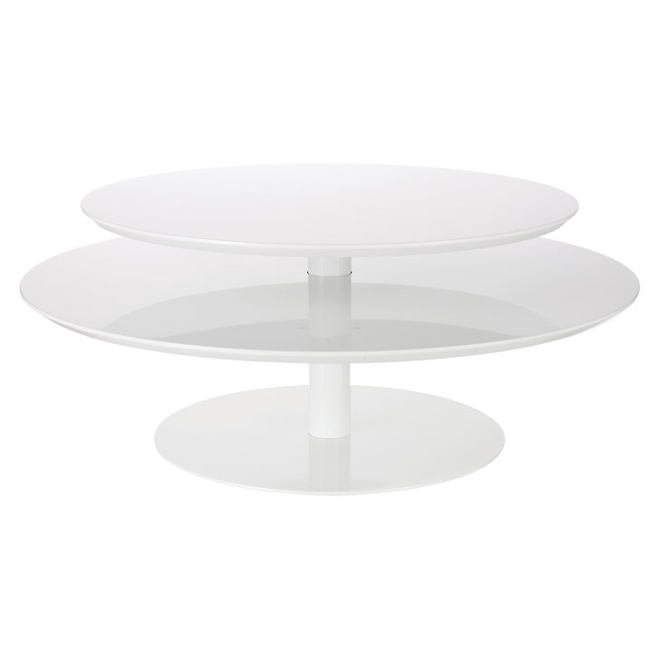 10 tables basses canon pour habiller son salon table basse blanche habitat - Ikea table basse blanche ...