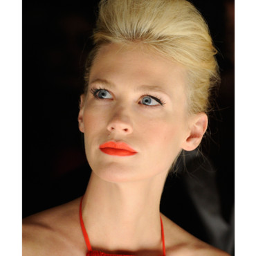 January Jones look in 2010