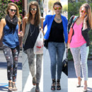 Jessica Alba : les jeans imprimés Current/Elliot, sa fashion fixette