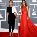 Montage Match Mode Beyoncé Rihanna aux Grammy Awards 2013