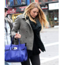 Blake Lively et son sac Mulberry
