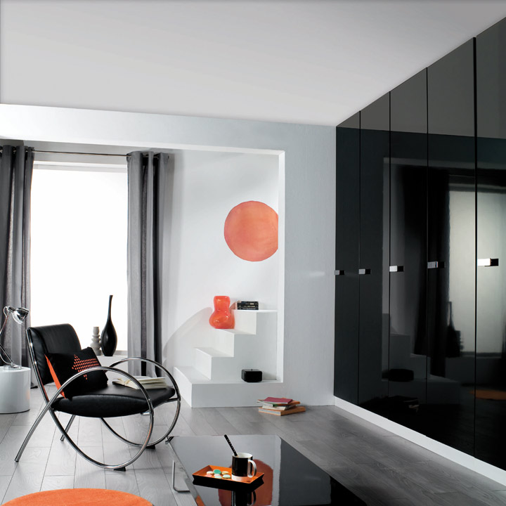 d co int rieure les nouveaut s lapeyre de 2009 lapeyre 2009 les portes de placards. Black Bedroom Furniture Sets. Home Design Ideas