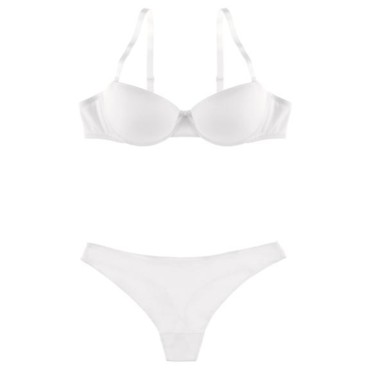Lingerie de mariage : l'ensemble Basic invisible de Chantelle