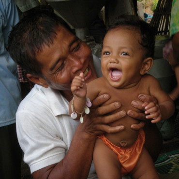 Un enfant au Cambodge