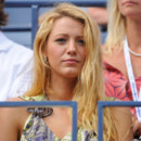 Blake Lively toute blonde à l'US Open