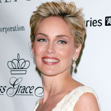 Sharon Stone à 46 ans, le 27 octobre 2004 au Gala Grace à New York.