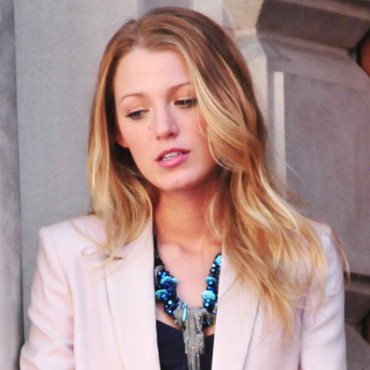 Blake Lively Gossip Girl à New York