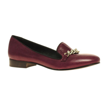 Mocassins bordeaux Asos 96,15e