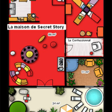 Maison-de-Secret-Story-par-Foorplaner - Copyright © <DR>