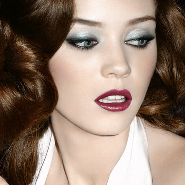 Yves Saint-Laurent maquillage, look automne 2009