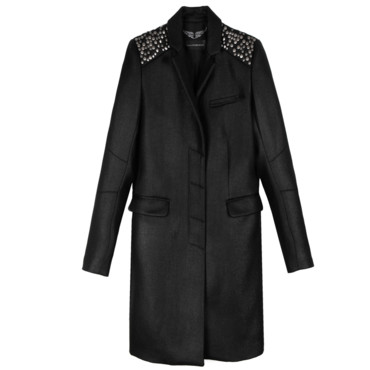 Le manteau chic and rock Zadig et Voltaire 575 euros