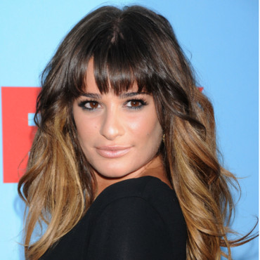 Lea Michele et son Tie and Dye destructuré