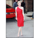Renee Zellweger en robe rouge