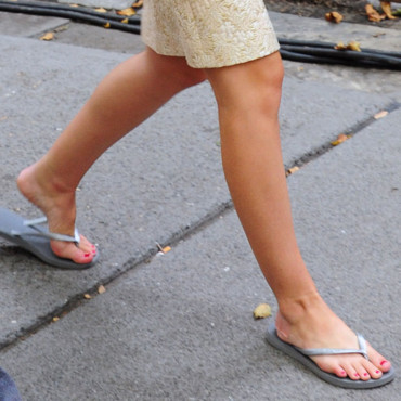 A qui sont ces chaussures ? Leighton Meester