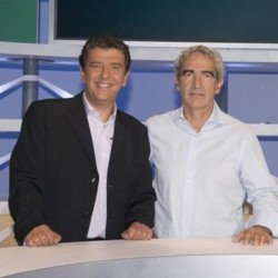 people : Thierry Gilardi et Raymond Domenech