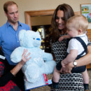Le Prince William, George et Kate Middleton