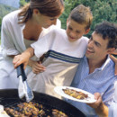 Barbecue famille