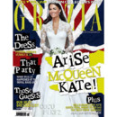 Kate Middleton en couverture de l'édition britannique de Grazia en mai 2011