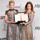 Adèle Exarchopoulos et Cate Blanchett lors de la remise du trophée Chopard le 15 mai 2014